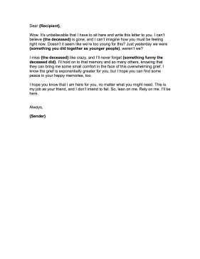 how to write a letter of condolence to a friend 117 sample condolence letter templates you can download and print for free we have tips on writing condolence letters as well as sympathy letter templates.